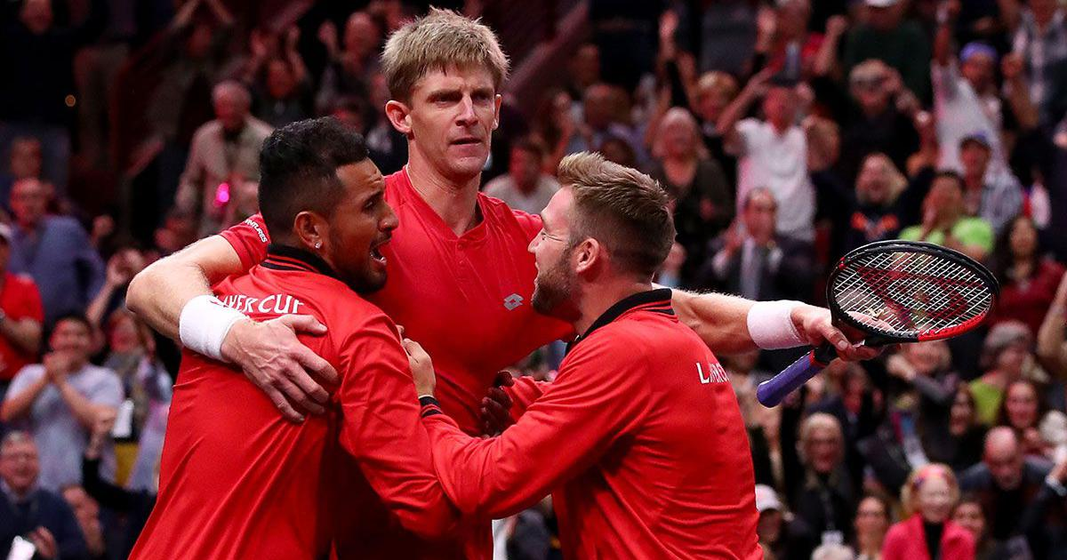 Laver Cup Anderson defeats Djokovic as Team World bounce back to cut Europe's lead