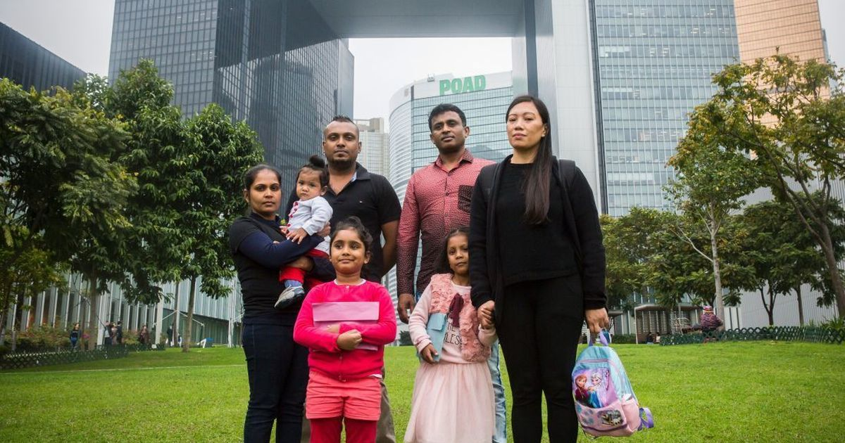 A Sri Lankan refugee family in Hong Kong pays for being Edward Snowden's 'guardian angels'