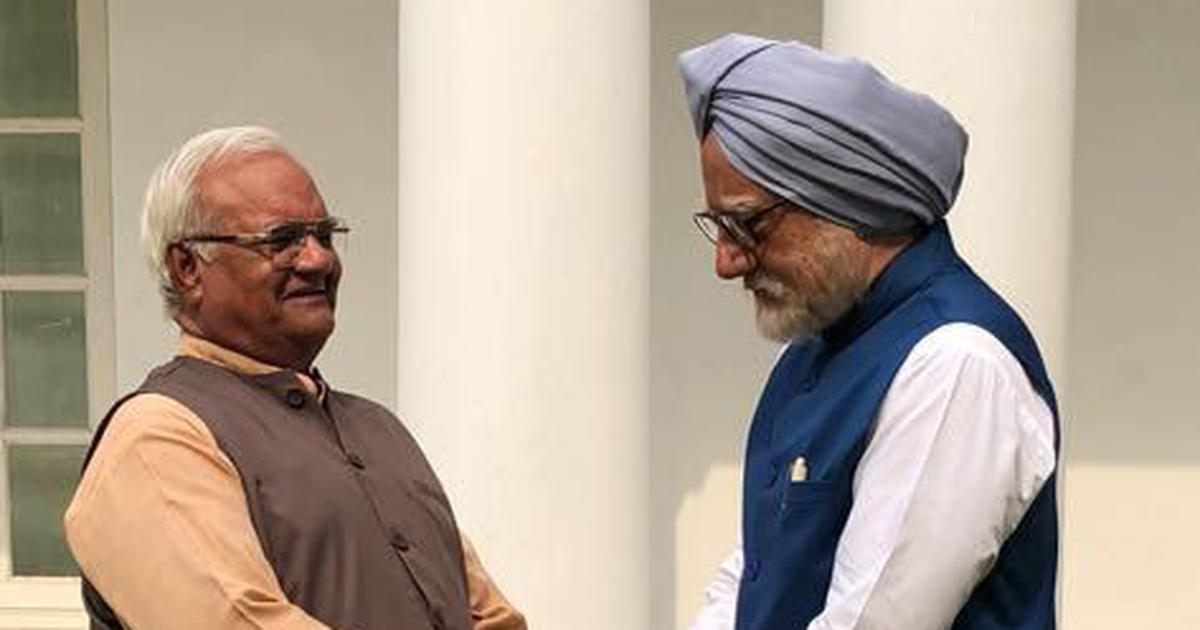 First-time actor plays Atal Bihari Vajpayee in 'The Accidental Prime Minister' adaptation