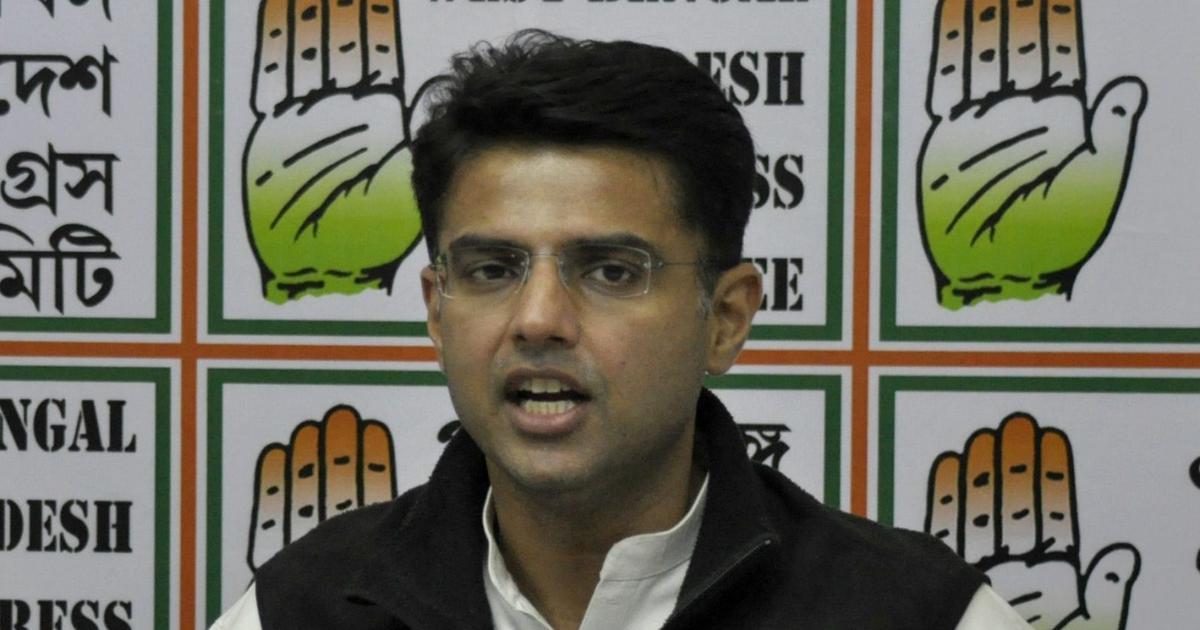 भाजपा वसुंधरा राजे सिंधिया को बचाने के लिए अपने विधायकों को बलि का बकरा बना रही है : सचिन पायलट