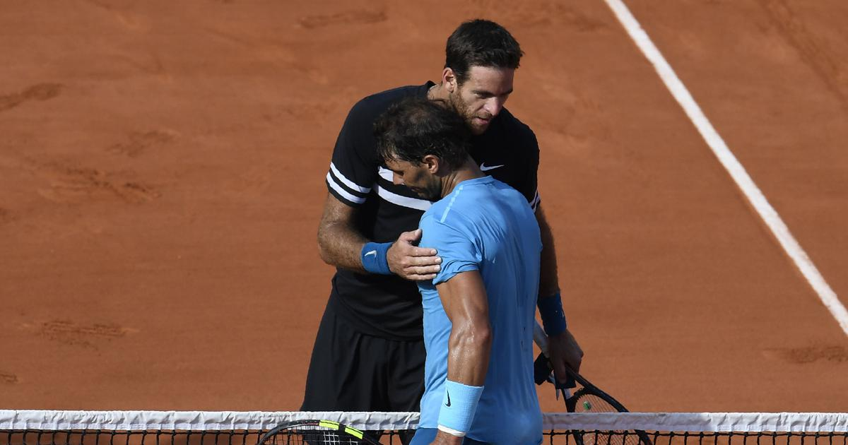 'It's almost impossible to beat Rafa': Del Potro backs Nadal to win 11th French Open title