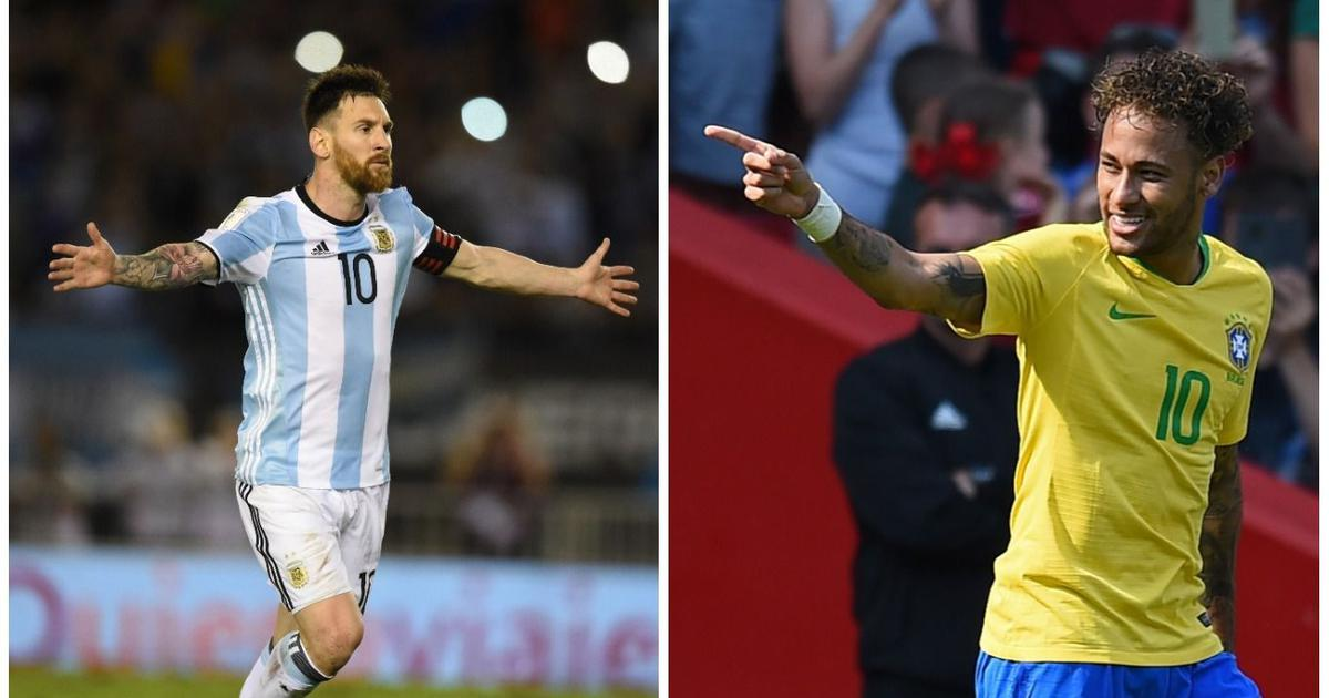 Russia 2018 countdown: Neymar keen to erase 2014 memories, Messi unsure of international future