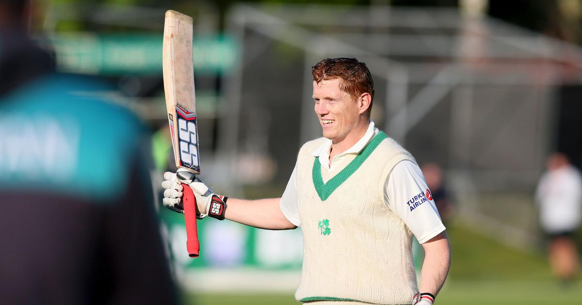'People will now say I am good enough to play Test cricket': Ireland's Kevin O'Brien