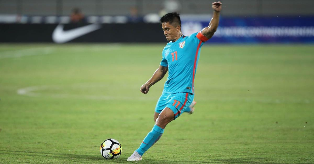 Football: Sunil Chhetri will miss India's friendly against Jordan due to ankle injury