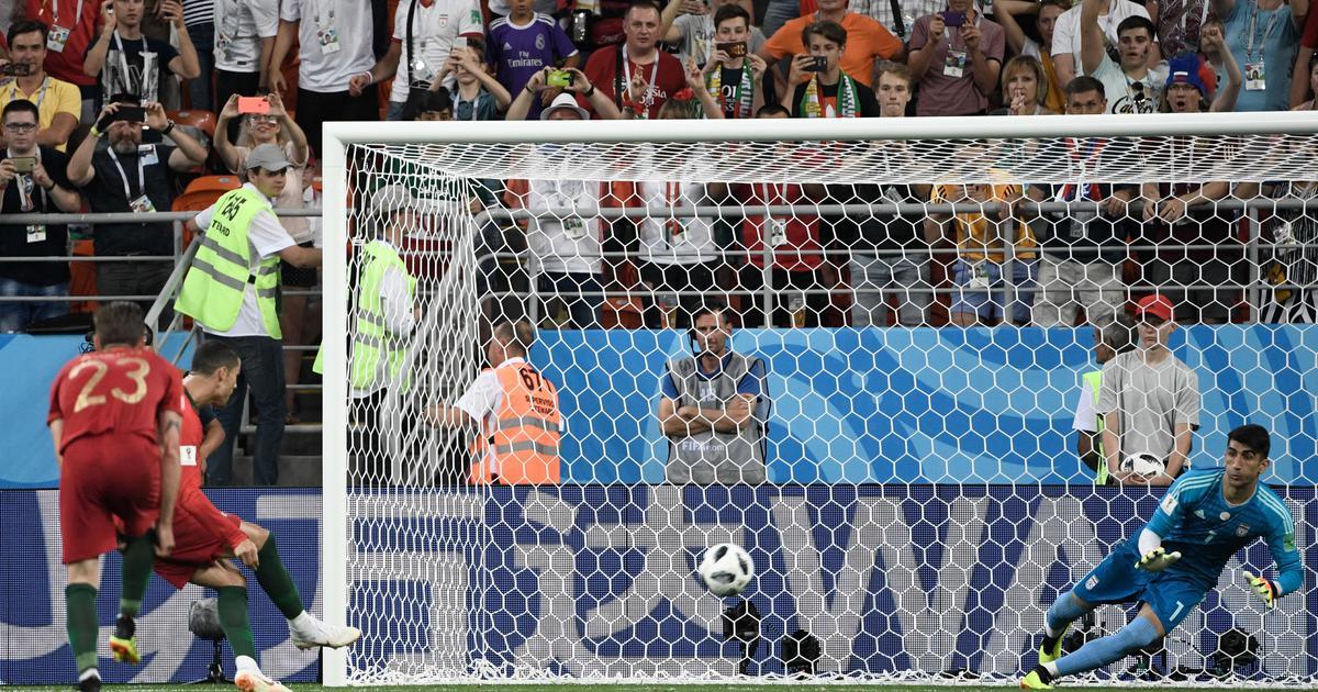 फुटबॉल विश्वकप : ईरान-पुर्तगाल का मुकाबला बराबरी पर छूटा, उरुग्वे और सऊदी अरब ने जीत दर्ज की