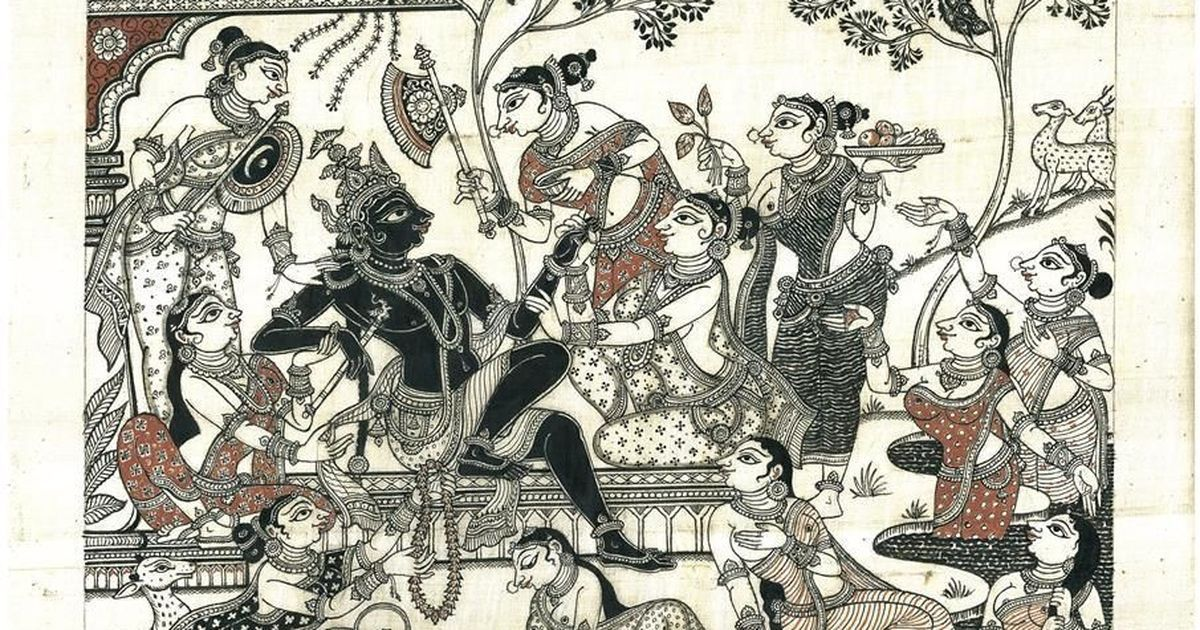 Photos: A pattachitra artist draws from Hindu mythology without depicting anything religious