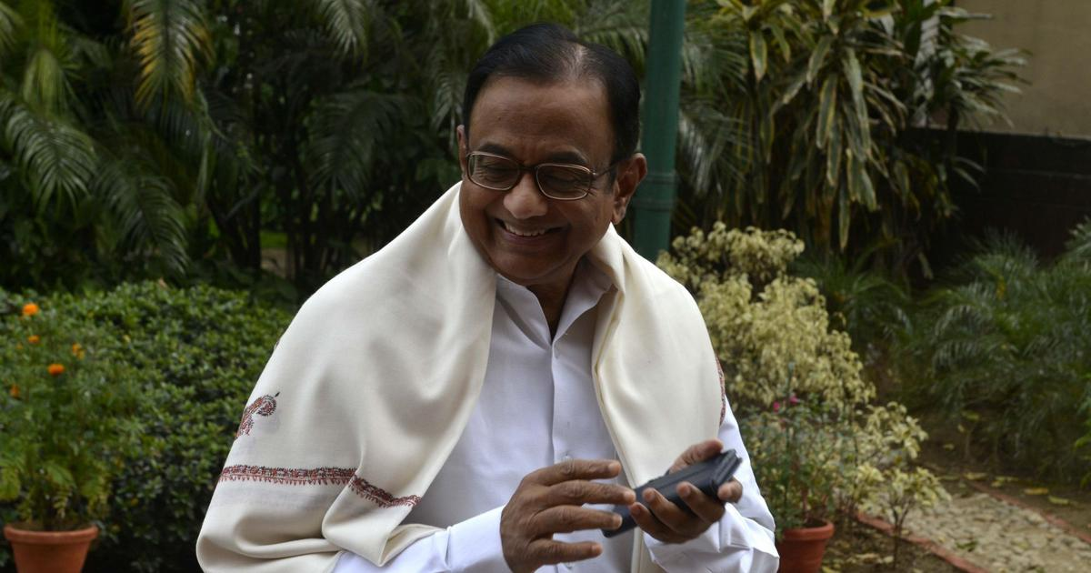 Chidambaram says Centre's measures to halt the weakening of the rupee are 'half-hearted'