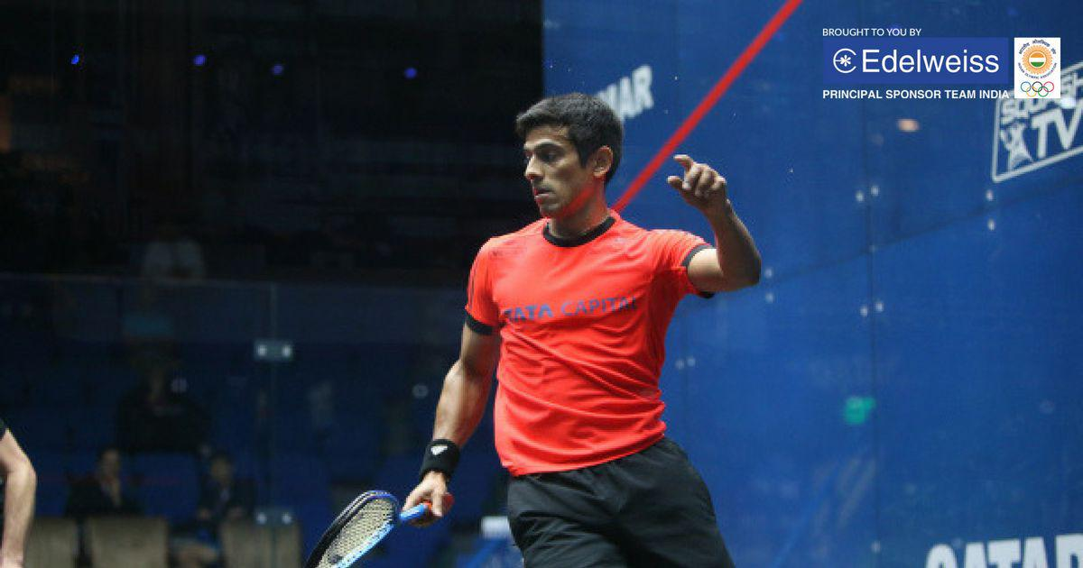 Squash: Saurav Ghosal becomes first Indian man to break into top 10 of PSA world rankings