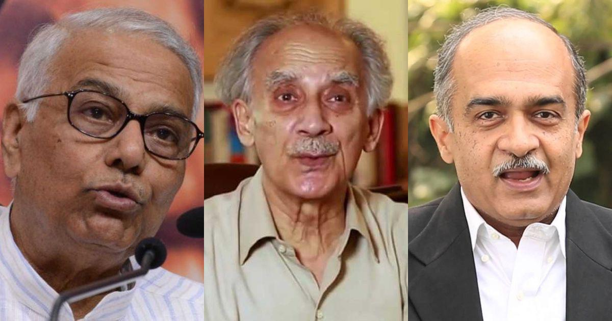 Yashwant Sinha, Arun Shourie, Prashant Bhushan: 'Rafale defence scandal imperils national security'