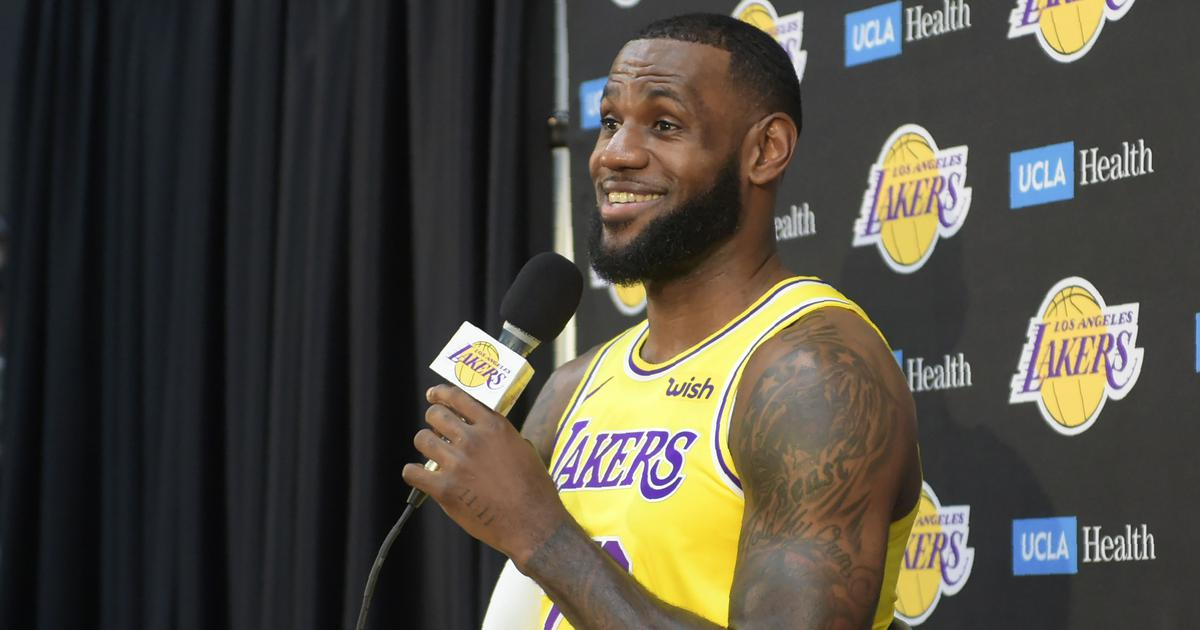 dea6d89547f NBA  Can LeBron James write a fairytale ending for himself and struggling  LA Lakers
