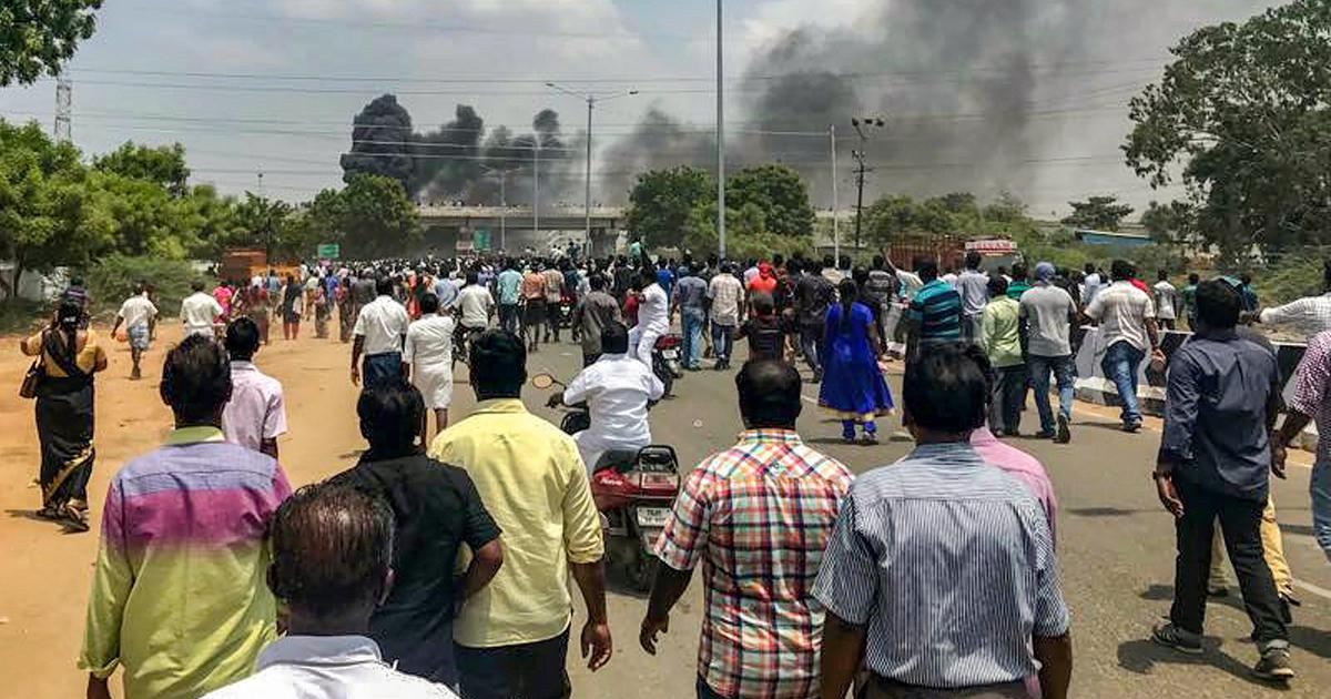 'What crime did we commit?': Fear in Tuticorin as police kill nine protesting copper plant