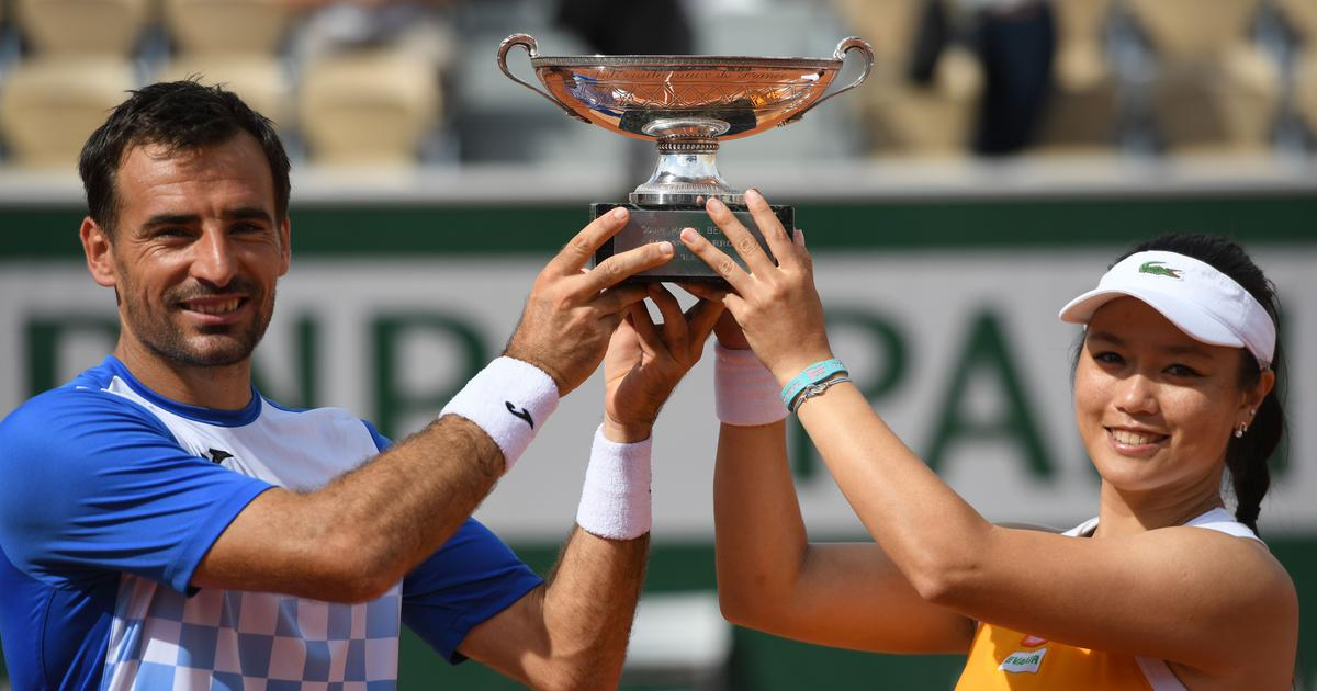 Chan, Dodig emerge French Open mixed doubles champions