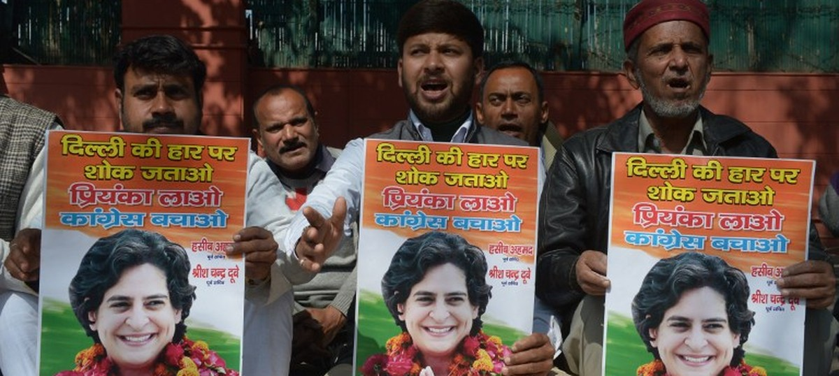 This is the Congress's brilliant UP gameplan: When one Gandhi fails, bring in another