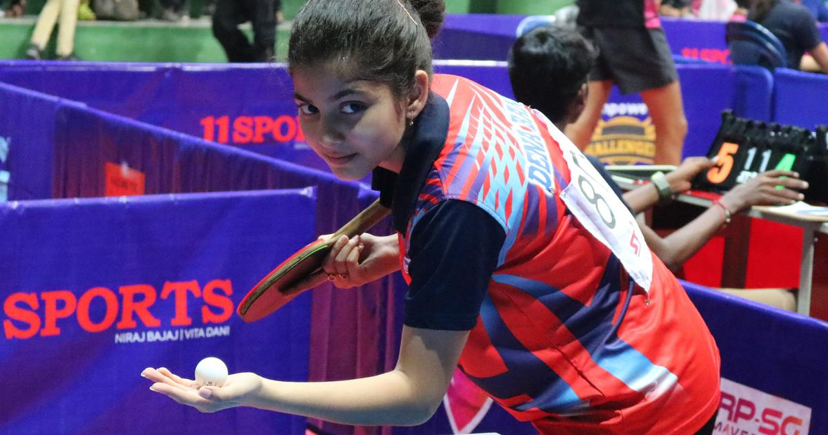 Anannya Basak knocks Manika Batra out in first round of national table tennis ranking tourney