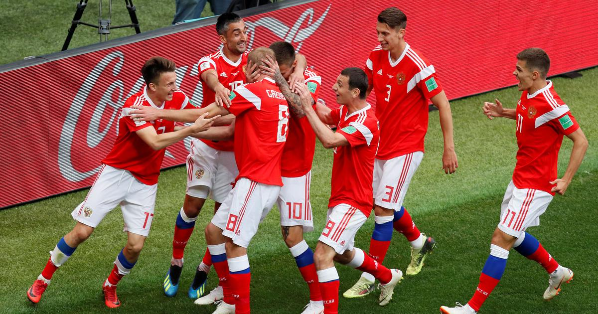 Fifa World Cup 2018: Denis Cheryshev bags brace as Russia thrash Saudi Arabia 5-0 in opener