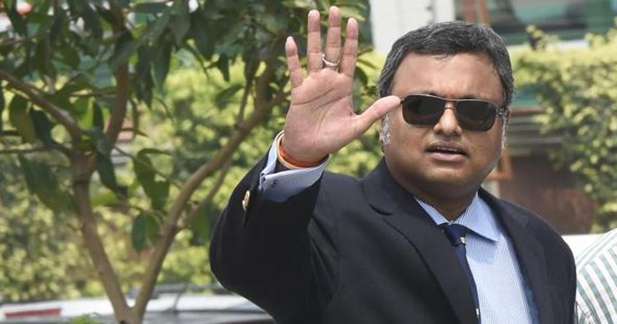 Supreme Court allows Karti Chidambaram to travel to UK, Germany till May 27 subject to conditions