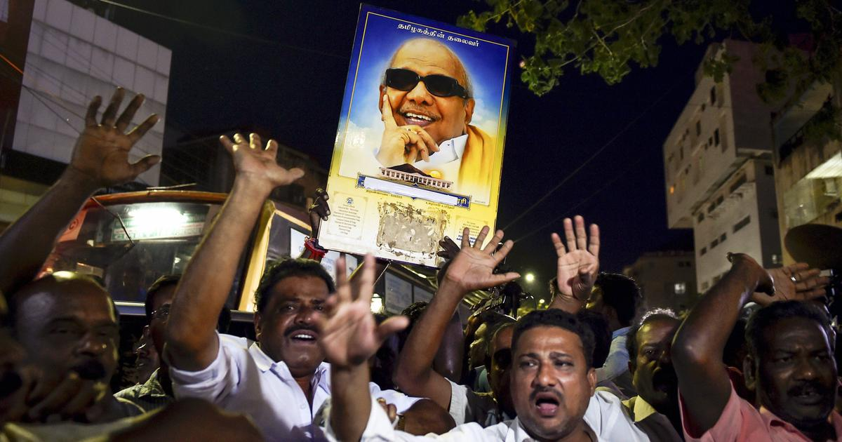 The big news: Former Tamil Nadu Chief Minister Karunanidhi's health worsens, and 9 other top stories