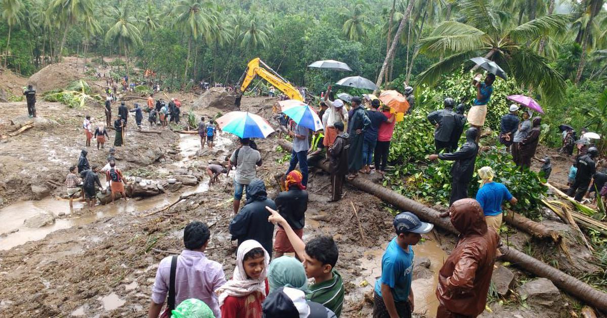 Heavy Rain wreaked havoc again in Kerala