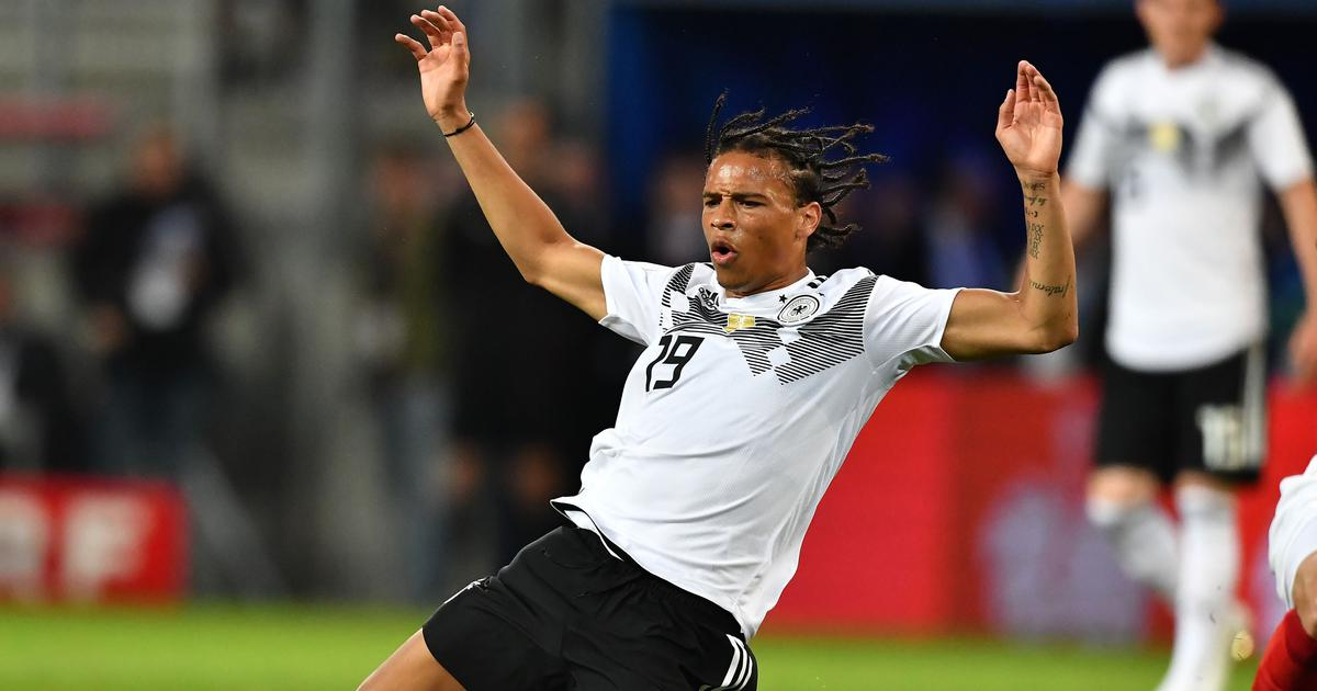 Fifa World Cup 2018: Manchester City star Leroy Sane left out of Germany's 23-man squad