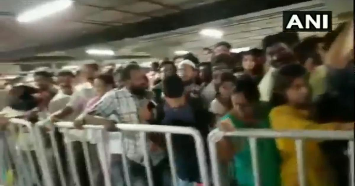Watch: Huge crowds surging to IKEA's first India store in Hyderabad could  have led to a stampede