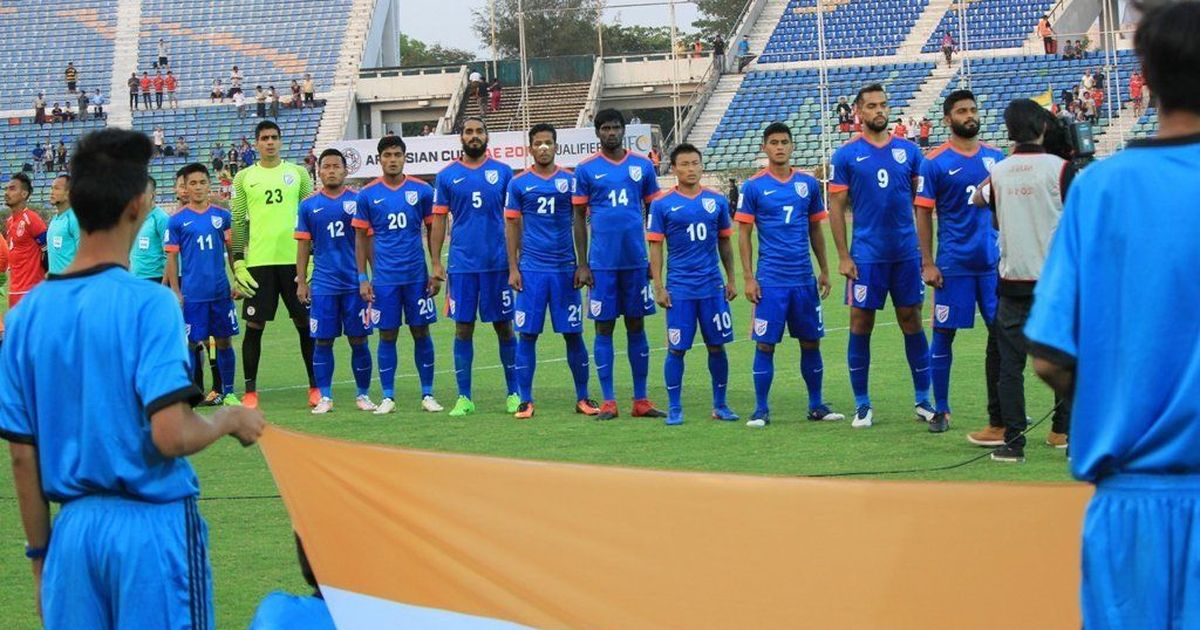 For the first time since 1996 India breaks into the top-100 in latest Fifa rankings