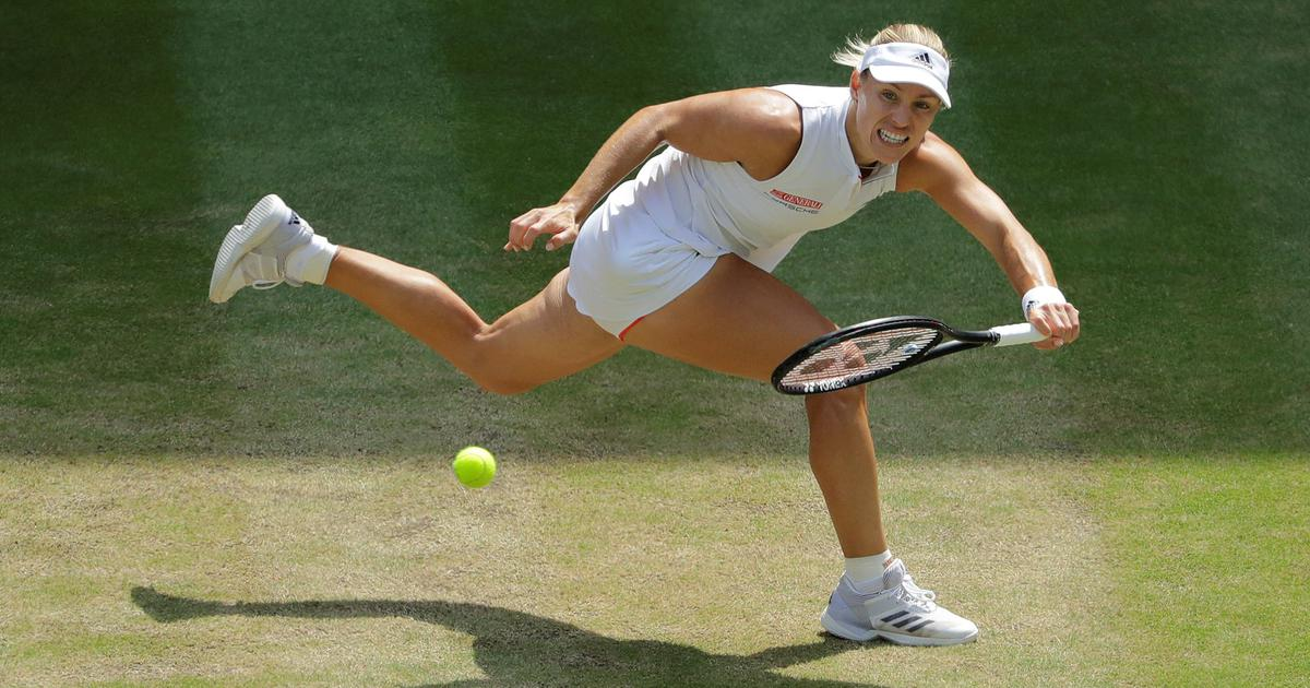 Angelique Kerber brushes aside Jelena Ostapenko to storm into second Wimbledon final