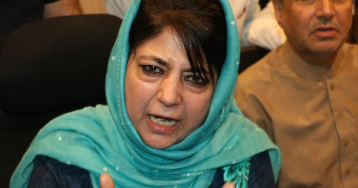 J&K: Five PDP leaders criticise Mehbooba Mufti for blaming Centre for rebellion in party