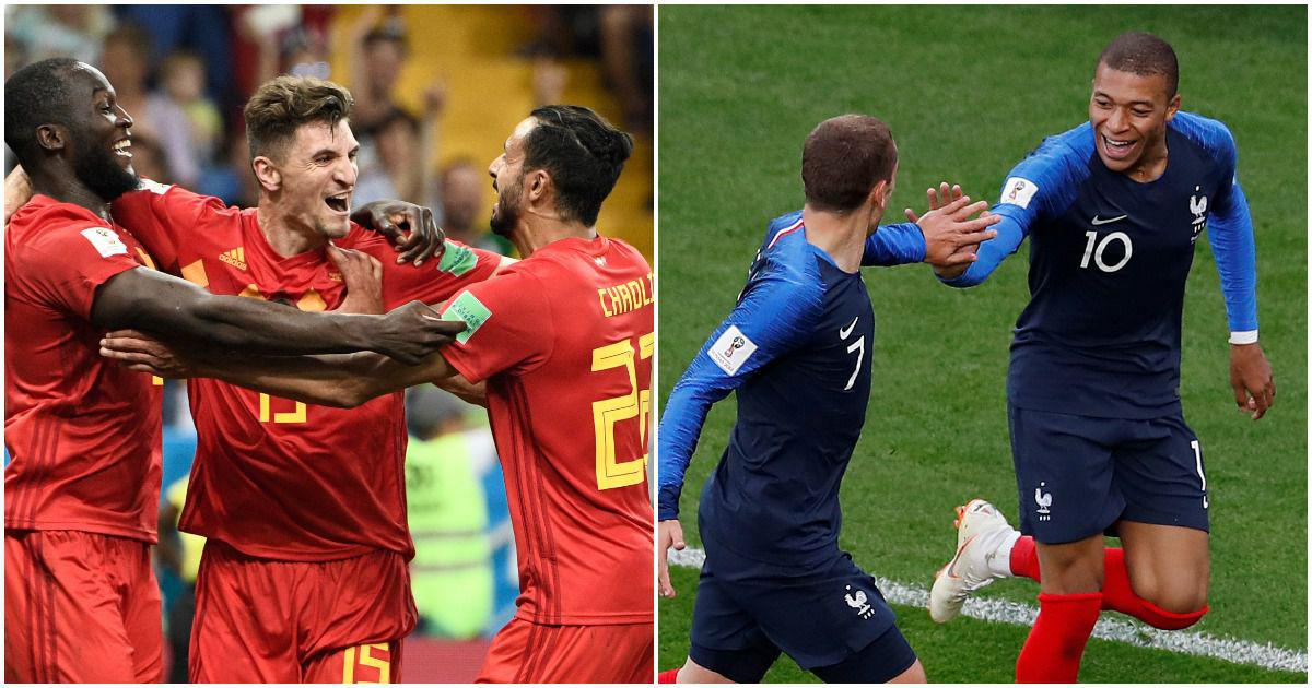 France vs Belgium, statistical preview: The 74th meeting in a 114-year-old sporting rivalry