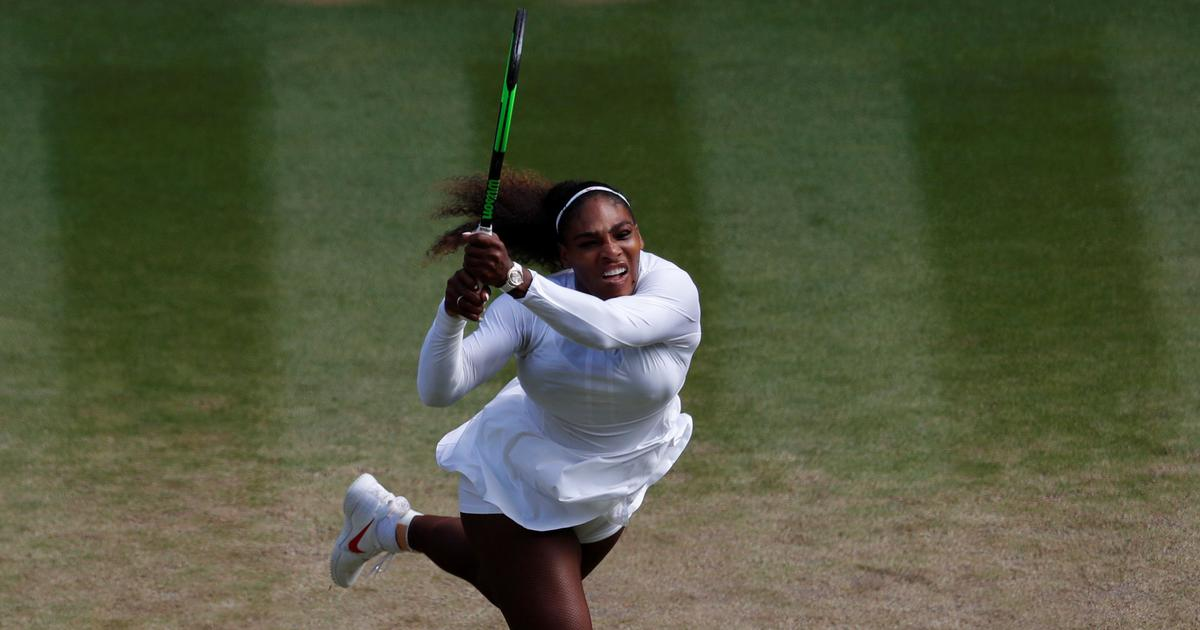Serena Williams fights back from set down to reach 11th Wimbledon semi-final