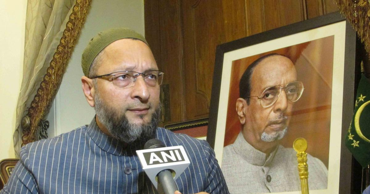 AIMIM chief Asaduddin Owaisi challenges Amit Shah to contest elections from Hyderabad