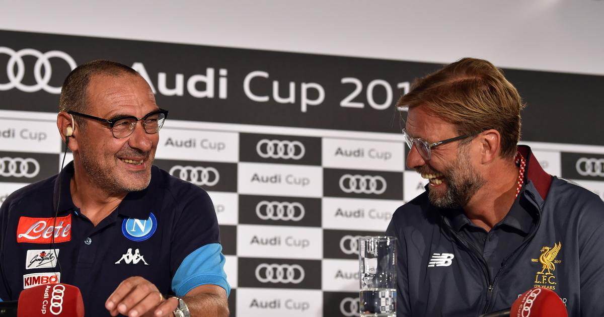 What a manager he is to be honest Klopp lauds Sarri's impact on Chelsea