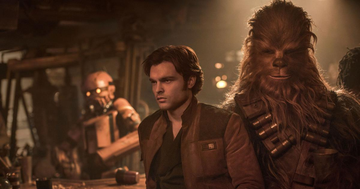 The new Han Solo, Alden Ehrenreich, enjoying the 'Star Wars' galaxy