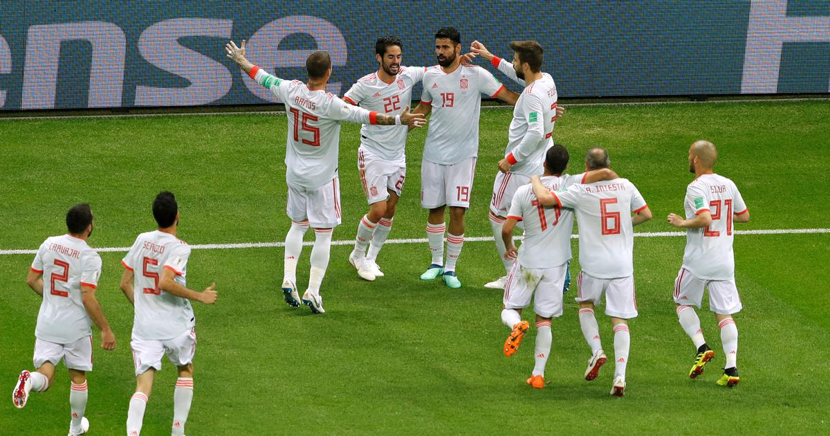 Costa grabs lucky goal as relieved Spain edge Iran 1-0