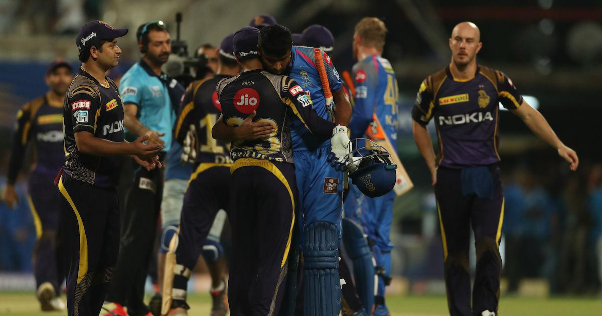 IPL 11: KKR bowlers stifle Rajasthan Royals to enter Qualifier 2 with 25-run win