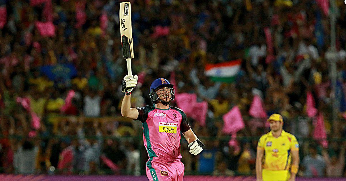 IPL 11: Buttler's heroics keep RR's hopes of playoff spot alive, beat CSK by four wickets