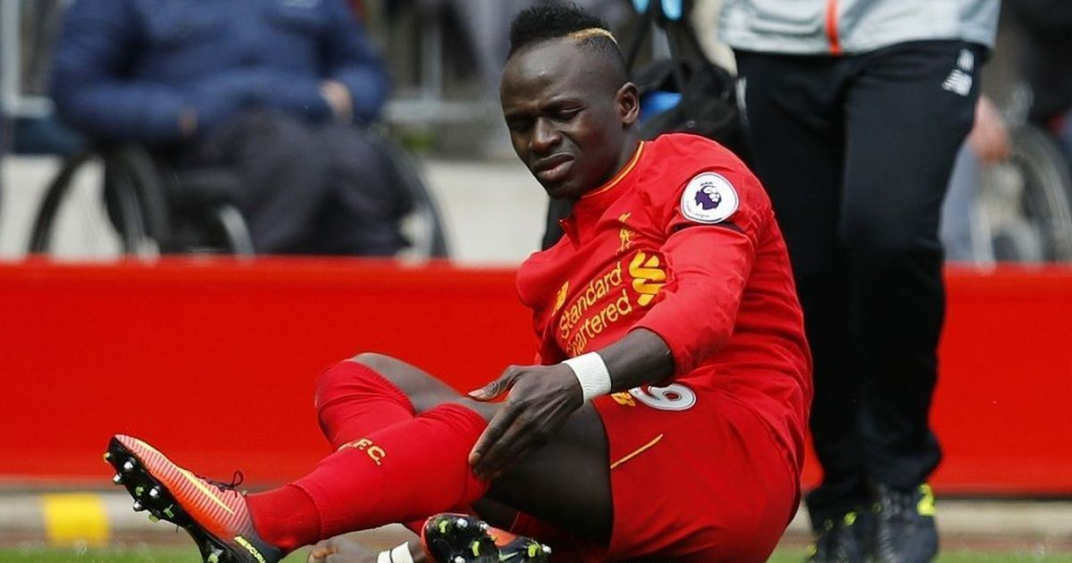 Liverpool forward Sadio Mane out for up to six weeks with hamstring injury