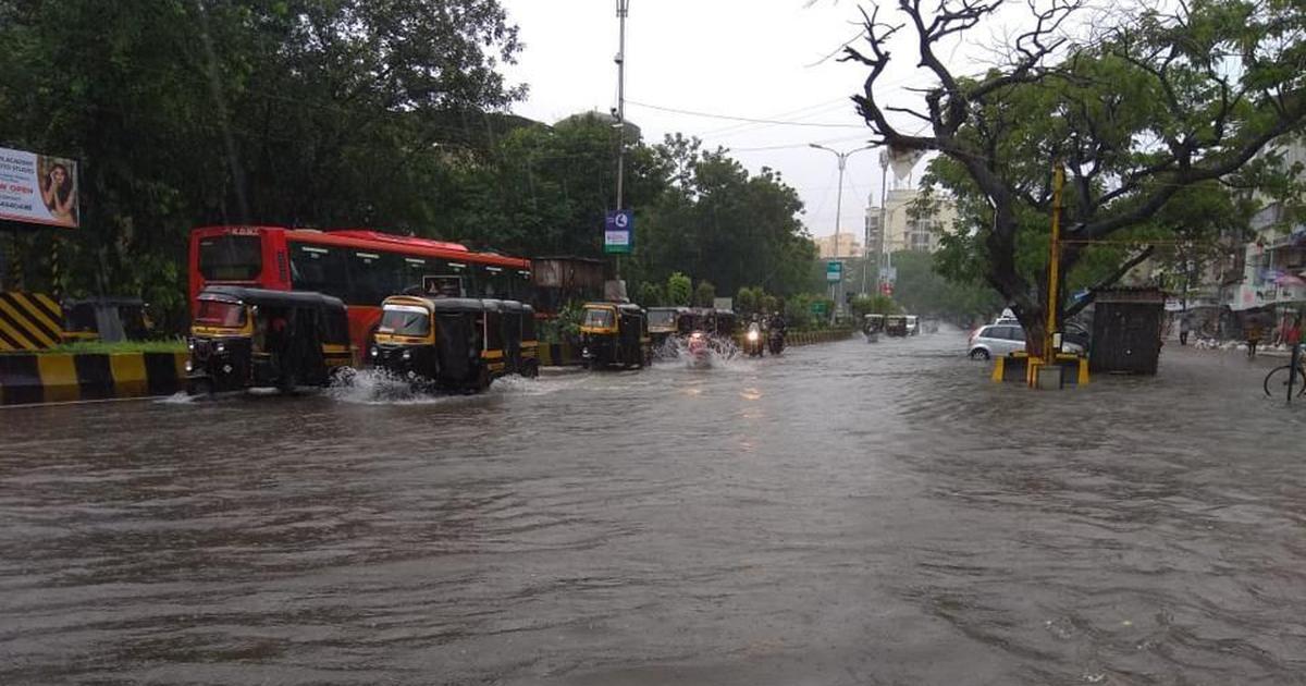 Mumbai rain hits local trains, traffic, Andheri bridge collapses