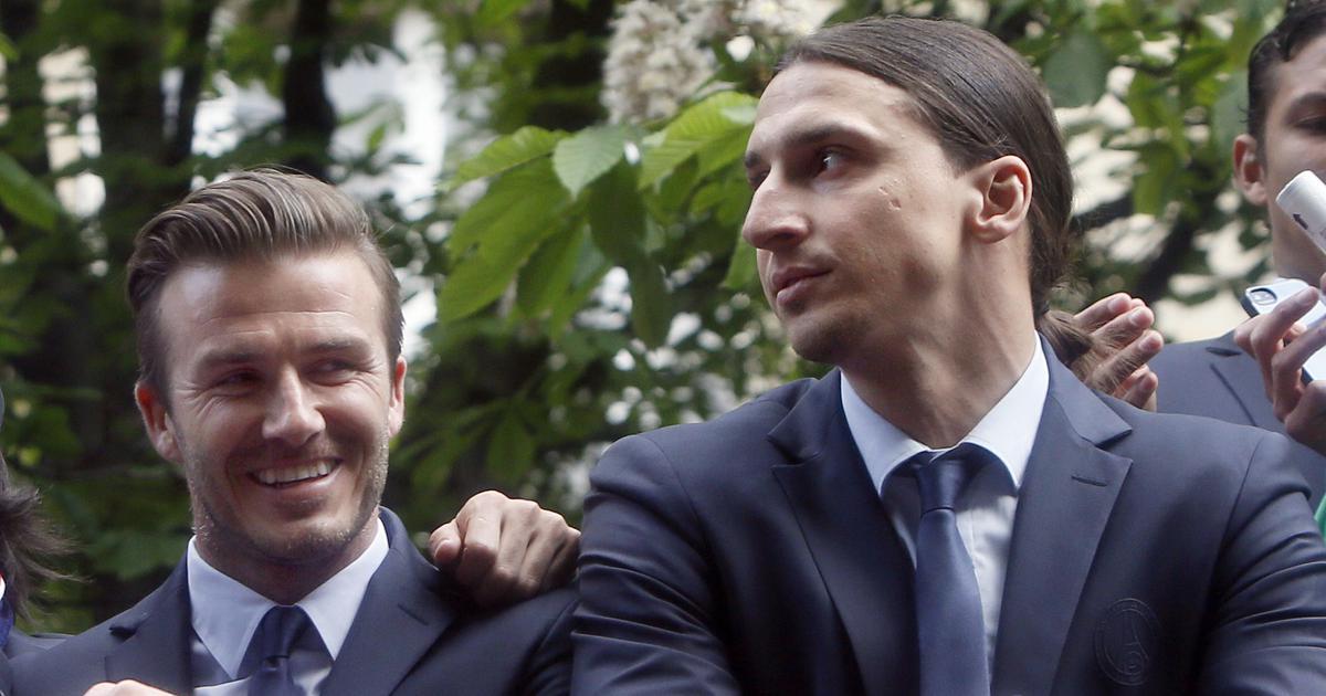 World Cup: Zlatan Ibrahimovic and David Beckham agree on ...