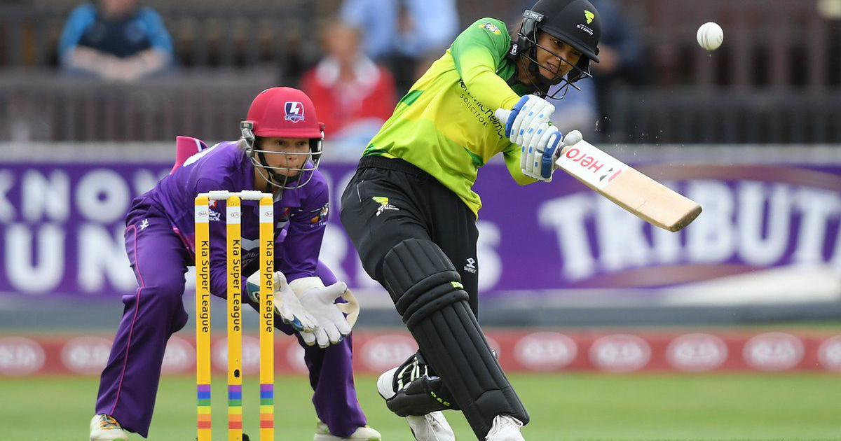 Mandhana equals the record for fastest half-century in women's T20