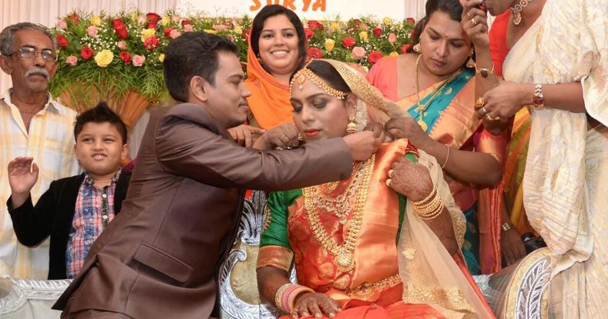 केरल : कानूनी रूप से लिंग परिवर्तन कराने वाले ट्रांसजेंडर जोड़े ने पारंपरिक रीति से शादी की