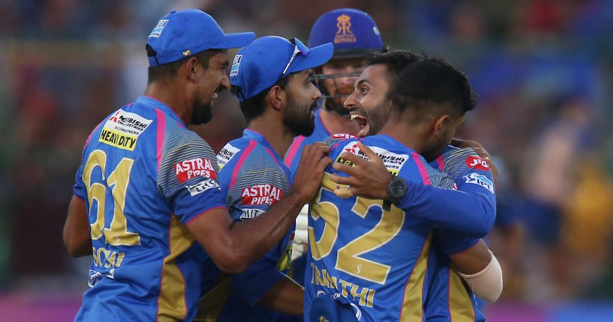 IPL 11: RCB knocked out as Rajasthan win by 30 runs to stay in contention for play-off spot