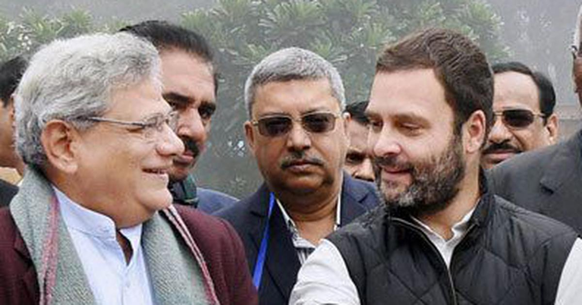 आरएसएस राहुल गांधी और सीताराम येचुरी को अपने कार्यक्रम में बुलाने की योजना बना रहा है