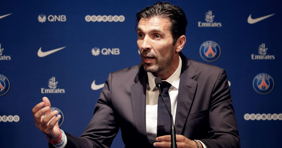 'Nobody ever told me I would be a starter': Buffon says he's ready to earn his place at PSG