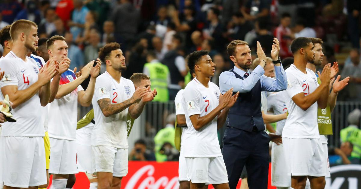 'A huge step forward': Fans on Twitter salute England's World Cup run despite semi-final heartbreak