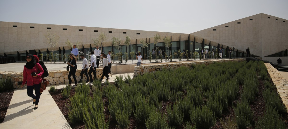 The Palestinian Museum opened without artefacts, but it's still a beacon of hope