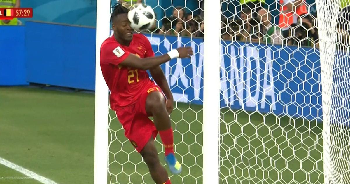 Image result for michy batshuayi hit face
