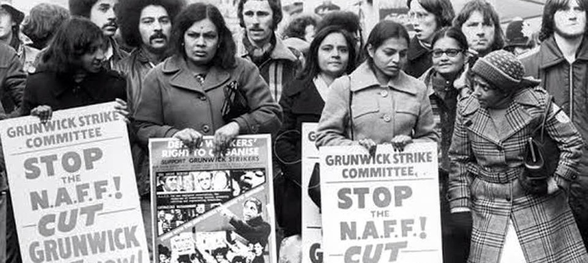 Strikers in Saris: A mural remembers the women who shook Britain in 1976