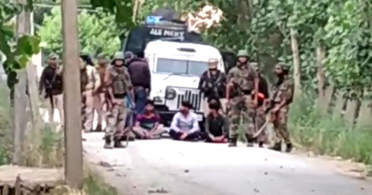 In Kashmir, another 'human shield' incident scars a minor and four men