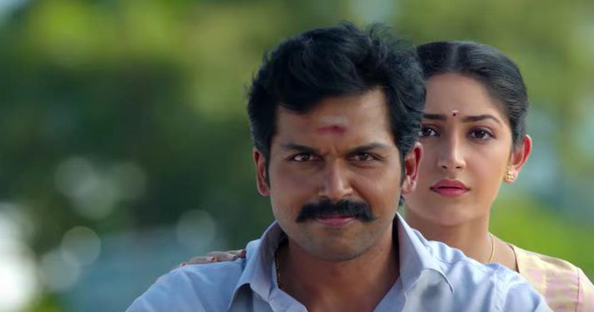 Trailer talk: Karthi is a proud farmer in 'Kadaikutty Singam'
