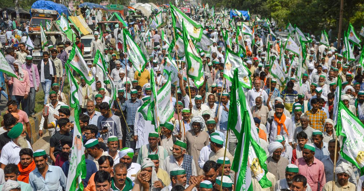 Image result for Farmers rally today